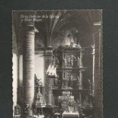 Postales: POSTAL SIN CIRCULAR - DEVA 5 - INTERIOR DE LA IGLESIA - SAN SEBASTIAN - EDITA JUAN MARTINEZ DE YUSO. Lote 148176362