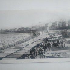 Postales: POSTAL ANTIGUA LA CONCHA SAN SEBASTIÁN GIPUZKOA, DÉCADA 1910 O 1920. Lote 149059890