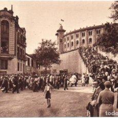 Postales: POSTAL DE SAN SEBASTIÁN GUIPUZCOA NUEVA EDITIONS JOVÉ PAU BP ENTRADA A LOS TOROS, IMPRESO EN FRANCIA. Lote 149609522