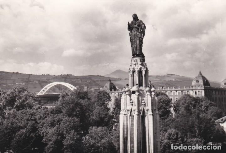 Postal de bilbao - monumento al sagrado corazón - Vendido en Venta ...