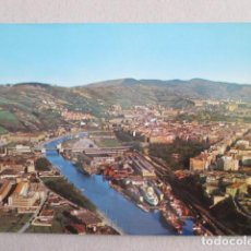 Postales: 6339 SPAIN ESPAÑA ESPAGNE PAÍS VASCO VIZCAYA BILBAO VISTA AEREA. Lote 150680846