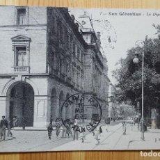 Postales: SAN SEBASTIAN LA DIPUTACION Nº 7 ED. J. LATIENLE 1912. Lote 151228106