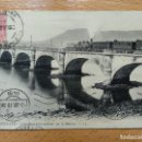 Postales: HENDAYE, HENDAYA. PUENTE. PONT INTERNATIONAL SUR BIDASOA. TREN FERROCARRIL..LL. Lote 151511546