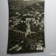 Postales: POSTAL BILBAO AEREA BASILICA NTRA-SRA-BEGOÑA CM. Lote 151576194