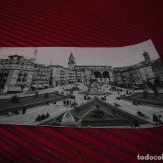 Postales: ANTIGUA POSTAL DE VITORIA.PLAZA DE LA VIRGEN BLANCA.. Lote 151620298