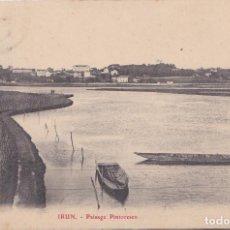 Postales: IRUN (GUIPUZCOA) - PAISAJE PINTORESCO. Lote 151653098