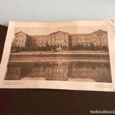 Postales: ANTIGUA POSTAL UNIVERSIDAD DE DEUSTO BILBAO. Lote 152631330