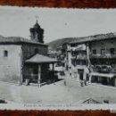 Postales: FOTO POSTAL DE LEZO, PLAZA DE LA CONSTITUCION Y LA BASILICA, GUILERA, SIN CIRCULAR. Lote 153005506