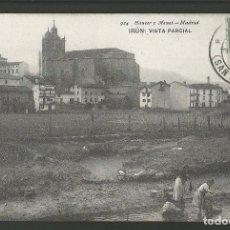 Postales: IRUN-VISTA PARCIAL-LAVANDERAS-924-HAUSER Y MENET-POSTAL ANTIGUA-(57.312). Lote 153224986