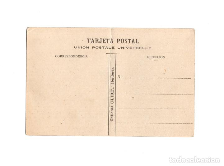 Postales: RENTERIA.(GUIPUZCOA).- GALLETAS OLIBERT.- MÁQUINA PARA LAMITAR Y TROQUELAR GALLETAS Y ENTRADA HORNOS - Foto 2 - 153362806