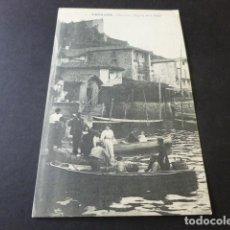 Postales: PASAJES GUIPUZCOA SAN JUAN REGRESO DE LA PESCA. Lote 153670482