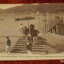 Postales: POSTAL SAN SEBASTIAN Nº 132, ED M.D. EL REY DE ESPAÑA ALFONSO XIII CLUB NAUTICO, GUIPUZCOA, MONARQUI. Lote 153704726