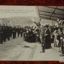 Postales: POSTAL DE SAN SEBASTIAN, Nº 149, DESFILE DE TROPAS ANTE REYES DE ESPAÑA, ALFONSO XIII, GUIPUZCOA, MO. Lote 153705014