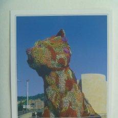 Postales: POSTAL DE BILBAO : PUPPY , MUSEO GUGGENHEIM. Lote 153885414