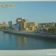 Postales: POSTAL DE BILBAO : MUSEO GUGGENHEIM. Lote 153970786