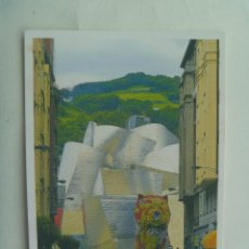 Postales: POSTAL DE BILBAO : MUSEO GUGGENHEIM. Lote 153982974