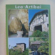Postales: POSTAL DEL PAIS VASCO , VASCONGADAS . LEA - ARTIBAI. Lote 154151830