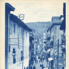 Postales: ZARAUZ-CALLE MAYOR- AUTOMOVIL-MIRANDA. Lote 154181114