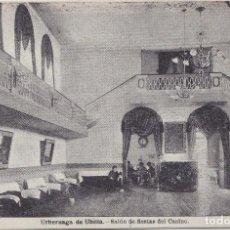 Postales: URBERUAGA DE UBILLA (VIZCAYA) - SALON DE FIESTAS DEL CASINO. Lote 154343686