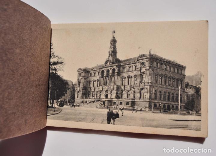 Postales: VISTAS DE BILBAO. SEGUNDA SERIE. BLOC DE 14 POSTALES. (FHER, BILBAO) - Foto 2 - 154390330