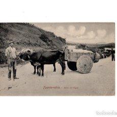 Postales: FUENTERRABÍA.- CARRO CON BUEYES.. Lote 154691854