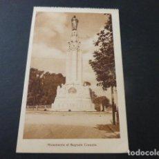 Postales: BILBAO MONUMENTO AL SAGRADO CORAZON. Lote 155498634