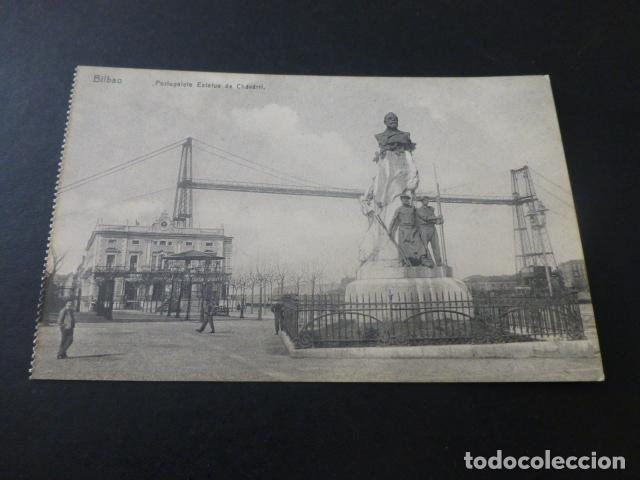 BILBAO PORTUGALETE ESTATUA DE CHAVARRI (Postales - España - Pais Vasco Antigua (hasta 1939))