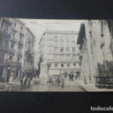 Postales: BILBAO PLAZUELA DE SANTIAGO. Lote 155499754