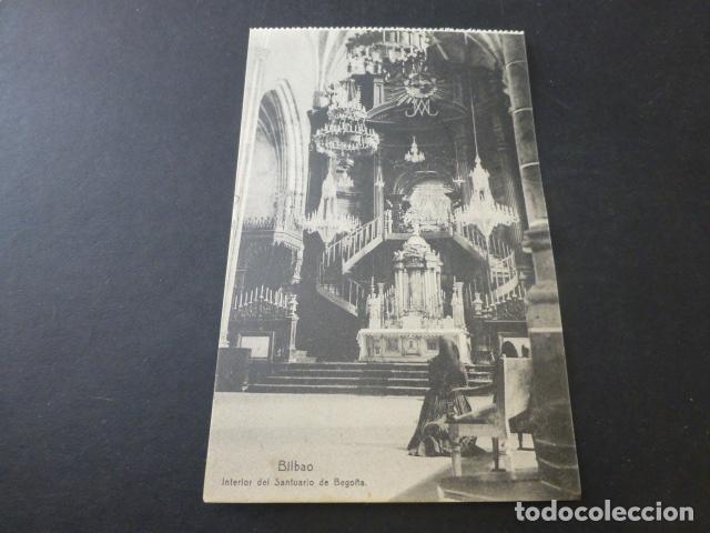 BILBAO INTERIOR DEL SANTUARIO DE BEGOÑA (Postales - España - Pais Vasco Antigua (hasta 1939))