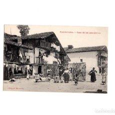 Postales: FUENTERRABIA.(GUIPÚZCOA).- CASA DE LOS PESCADORES. Lote 155501194