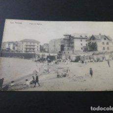 Postales: LAS ARENAS BILBAO PLAYA DE BAÑOS. Lote 155501266