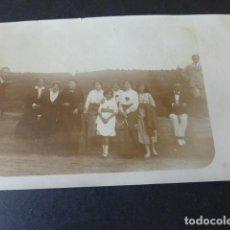Postales: CESTONA GUIPUZCOA 1914 GRUPO DE VERANEANTES POSTAL FOTOGRAFICA. Lote 155506902