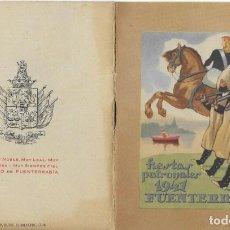 Postales: FUENTERRABIA.1941. Lote 155813682