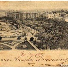 Postales: BONITA POSTAL - SAN SEBASTIAN - PLAZA DE LA ZURIOLLA. Lote 155980394