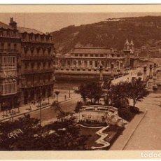 Postales: BONITA POSTAL - SAN SEBASTIAN - JARDINES - PUENTE Y KURSAAL. Lote 155981078