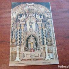 Postales: SANTUARIO DE LOYOLA ALTAR MAYOR DE LA IGLESIA, J. ECHEZARRETA MANIPEL 1.960, SIN CIRCULAR FOURNIER. Lote 155984406