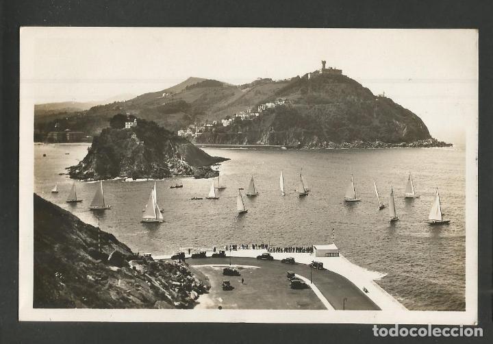 SAN SEBASTIAN-DONOSTIA-VISTA DESDE MONTE URGULL-349-FOTOGRAFICA GALARZA-VER REVERSO-(57.900) (Postales - España - Pais Vasco Antigua (hasta 1939))