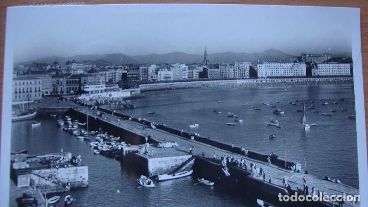 SAN SEBASTIAN. VISTA DESDE EL MONTE URGULL. GALARZA. CIRCULADA (Postales - España - País Vasco Moderna (desde 1940))