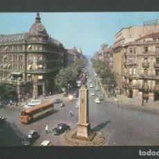 Postales: POSTAL SIN CIRCULAR - BILBAO 322 - MONUMENTO A LOPEZ DE HARO - EDITA VISTABELLA. Lote 156611290