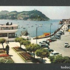 Postales: POSTAL SIN CIRCULAR - SAN SEBASTIAN - CLUB NAUTICO Y BAHIA - EDITA MANIPEL. Lote 156611594