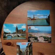 Postales: 4 POSTALES DE BILBAO, AÑOS 70, SIN USAR.. Lote 156642677
