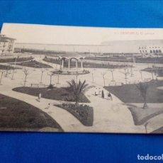 Postales: POSTAL DE SANTURCE (VIZCAYA): EL PARQUE (ED.MARCIAL POLO) (ANIMADA). Lote 156649502