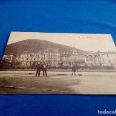 Postales: POSTAL DE SANTURCE (VIZCAYA): PANORAMA (ED.MARCIAL POLO) (ANIMADA). Lote 156649834