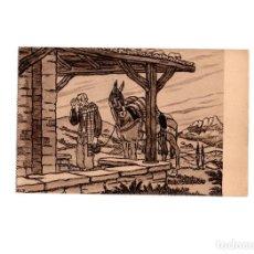 Postales: PAIS VASCO.- Nº 240. DESSIN DE PHILIPPE VEYRIN. HELIOGRAFIA MARCEL DELBOY-BORDEUX. Lote 156711050