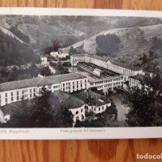 Postales: 1 POSTAL BALNEARIO DE CESTONA (GUIPÚZCOA). ANTIGUA. 1960. B/N. CIRCULADA. Lote 156767470