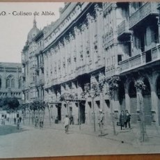 Postales: POSTAL BILBAO TEATRO COLISEO ALBIA IGLESIA JESUITAS EDI HAE VIZCAYA PAIS VASCO PERFECTA CONSERVACION. Lote 156843190