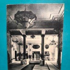 Postales: POSTAL SAN SEBASTIAN GRAN KURSAAL VESTIBULO FOTOTIPIA DE HAUSER Y MENET. Lote 156900866