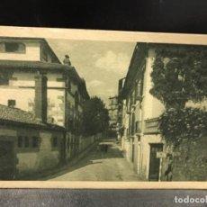 Postales: POSTAL DE GUIPUZCUA. OYARZUN. CALLE DEL GENERAL MOLA Nº 127 . Lote 156919634