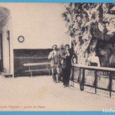 Postales: CESTONA - FUENTE THERMAL Y PASILLO DE BANAS. CARTE POSTALE. BAÑOS. Lote 156965246