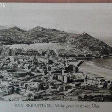 Postales: POSTAL SAN SEBASTIAN VISTA GENERAL DESDE ULIA EDIC MARIPEL GUIPUZCOA CIRCUL 1949 PERFECTA CONSERVACI. Lote 156993818